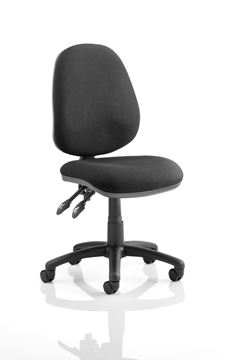 Picture of Office Chair Company Luna II Lever Task Operator Chair Black Without Arms