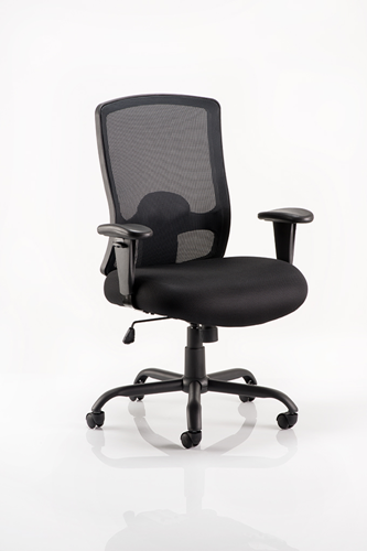 Picture of Office Chair Company Portland HD Task Operator Chair Black Mesh With Arms