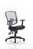 Picture of Office Chair Company Portland III Task Operator Chair Black Mesh Back With Arms