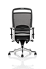 Picture of Office Chair Company Pioneer Task Operator Chair Black Leather High Back  With Arms