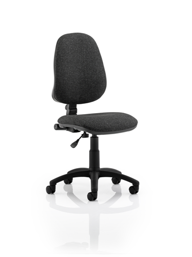 Picture of Office Chair Company Eclipse I Lever Task Operator Chair Charcoal Without Arms