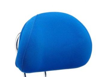 Picture of Office Chair Company Chiro Plus Headrest Blue Fabric