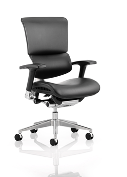 Picture of Office Chair Company Ergo-Dynamic Black Frame Bonded Leather