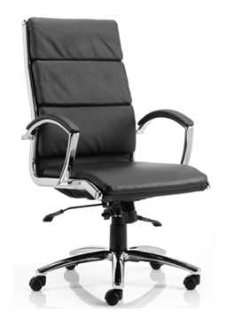 Picture of Office Chair Company Classic Executive Chair Black With Arms High Back