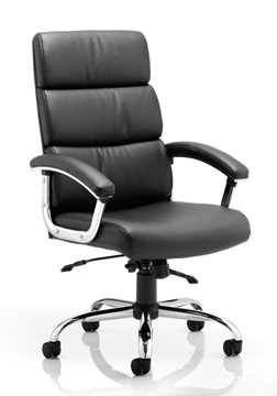 Picture of Office Chair Company Desire Executive Chair Black With Arms With Headrest