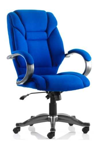 Picture of Office Chair Company Galloway Executive Chair Blue Fabric With Arms