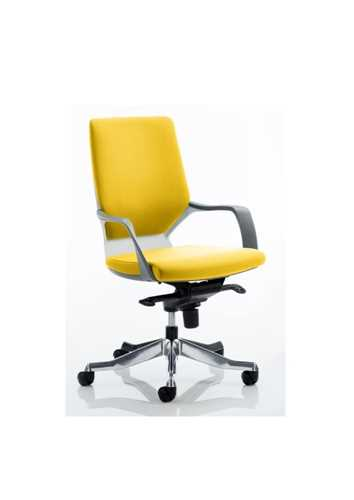Picture of Office Chair Company Xenon White Medium Back Bespoke Colour Sunset