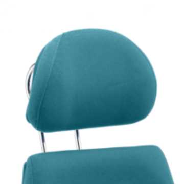 Picture of Office Chair Company Chiro Plus Headrest Bespoke Colour Kingfisher