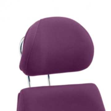 Picture of Office Chair Company Chiro Plus Headrest Bespoke Colour Purple