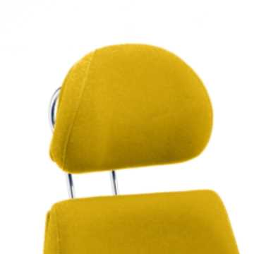Picture of Office Chair Company Chiro Plus Headrest Bespoke Colour Sunset