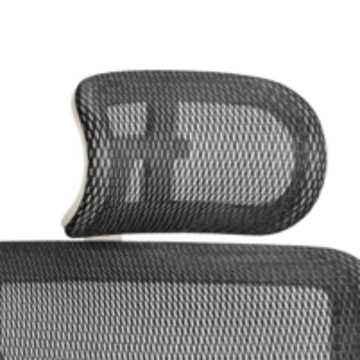 Picture of Office Chair Company Ergo-Dynamic Headrest Grey Frame Black Mesh