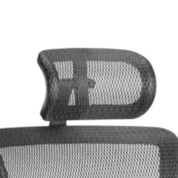 Picture of Office Chair Company Ergo-Dynamic Headrest Black Frame Black Mesh