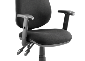 Picture of Office Chair Company Luna Black Height Adjustable Arms