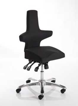 Picture of Office Chair Company Saltire Posture Chair Black Fabric