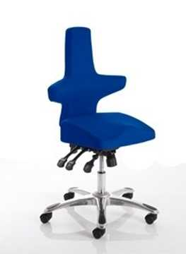 Picture of Office Chair Company Saltire Posture Chair Blue Fabric