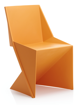 Picture of Office Chair Company Freedom Visitor Stacking Chair Mango Polypropylene