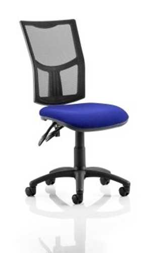 Picture of Office Chair Company Eclipse II Lever Task Operator Chair Mesh Back With Bespoke Colour Seat in Serene