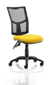 Picture of Office Chair Company Eclipse II Lever Task Operator Chair Mesh Back With Bespoke Colour Seat in Sunset