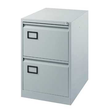 Picture of Office Chair Company Jemini Grey 2 Drawer Filing Cabinet