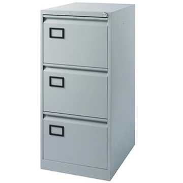 Picture of Office Chair Company Jemini 3D Filing Cabinet Grey 3 Drawer
