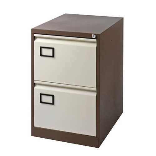 Picture of Office Chair Company Jemini Coffee/Cream 2 Drawer Filing Cabinet