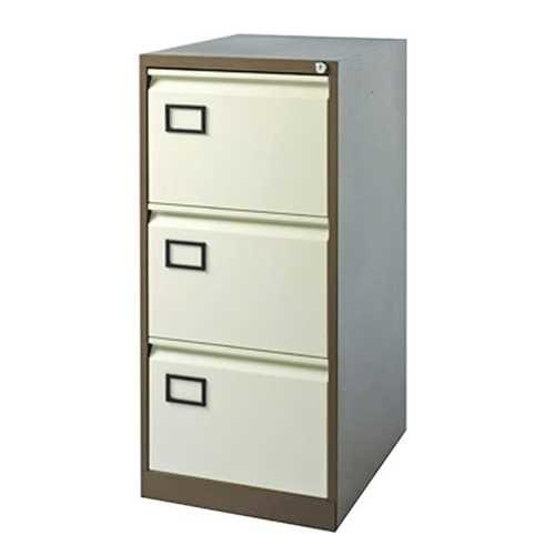 Picture of Office Chair Company Jemini Coffee/Cream 3 Drawer Filing Cabinet