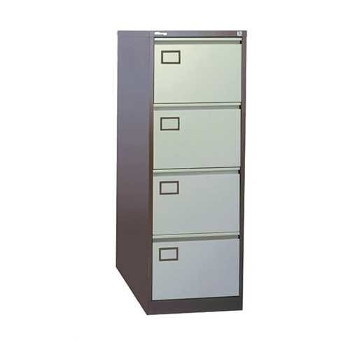 Picture of Office Chair Company Jemini Coffee/Cream 4 Drawer Filing Cabinet
