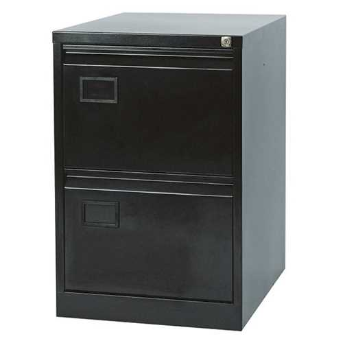 Picture of Office Chair Company Jemini 2 Drawer Filing Cabinet Black