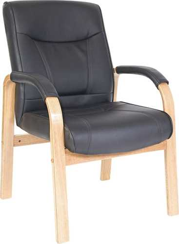 Picture of Office Chair Company Kingston Visitor Black and Oak