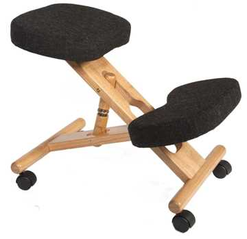 Picture of Office Chair Company Kneeling Chair Wood Charcoal