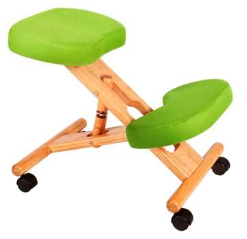 Picture of Office Chair Company Kneeling Chair Wood Lime Green
