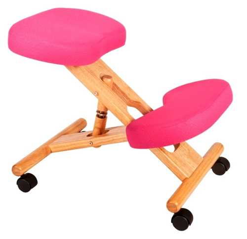 Picture of Office Chair Company Kneeling Chair Wood Pink