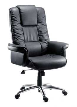 Picture of Office Chair Company Lombard Executive Black Bonded Leather Chair