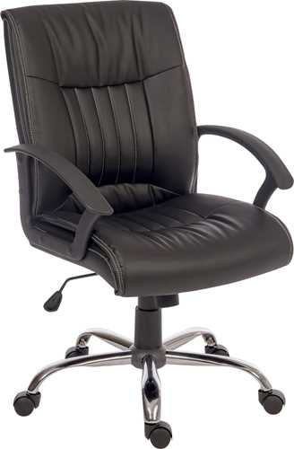 Picture of Office Chair Company Milan Black Leather Executive Chair
