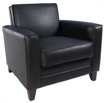 Picture of Office Chair Company Newport Black Leather Chair