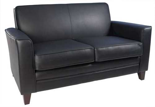 Picture of Office Chair Company Newport Black Leather Sofa