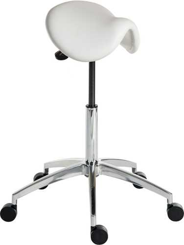 Picture of Office Chair Company Perch White Stool