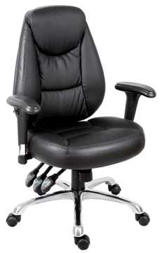 Picture of Office Chair Company Portland Black Leather