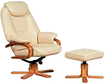 Picture of Office Chair Company Atlanta Luxury Recliner Cream