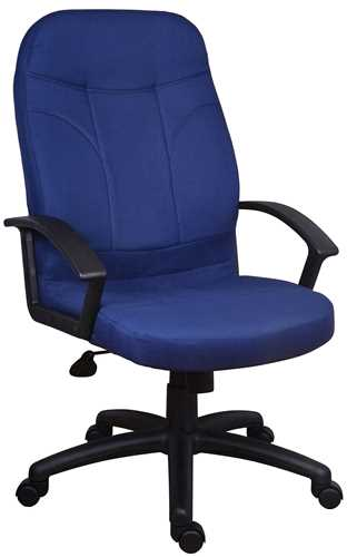 Picture of Office Chair Company Mayfair Blue Fabric
