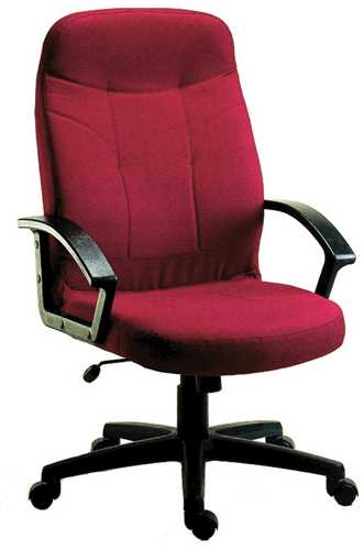 Picture of Office Chair Company Mayfair Burgundy Fabric