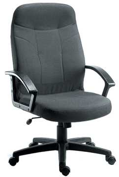 Picture of Office Chair Company Mayfair Charcoal Fabric