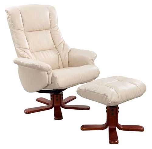 Picture of Office Chair Company Chicago Recliner Cream