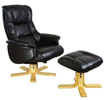 Picture of Office Chair Company Chicago Recliner Chocolate