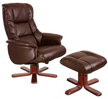 Picture of Office Chair Company Chicago Recliner Nut Brown