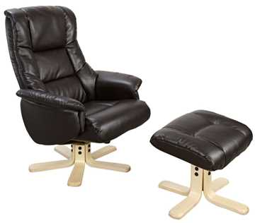 Picture of Office Chair Company Chicago Recliner Black