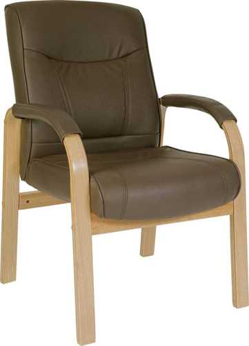 Picture of Office Chair Company Richmond Brown Leather Visitor