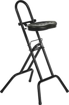 Picture of Office Chair Company Support Stool Black