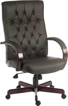 Picture of Office Chair Company Warwick Brown Leather