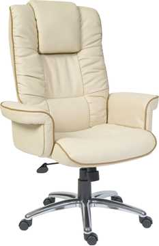 Picture of Office Chair Company Windsor Cream with a Tan Trim